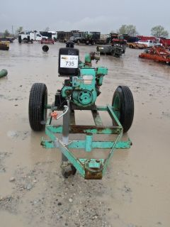 inch Towable Water Trash Pump Irrigation Pump
