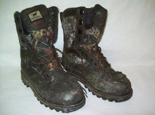 Irish Setter Mossy Oak Gore Tex Gunflint 1000g Boot 9 5EE 818