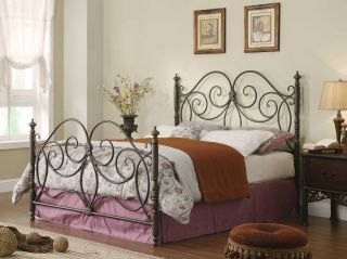 Coaster Iron Beds and Headboards Queen Bed 300258Q
