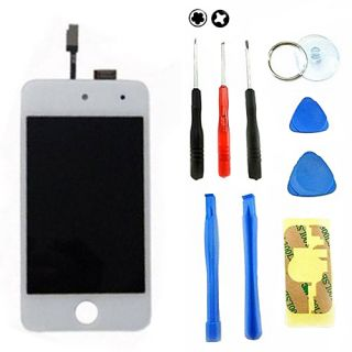 White iPod Touch 4 4th Gen 4G LCD Replacement Screen Digitizer Glass