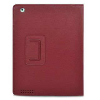 iPad 2 PU Magnetic Leather Smart Case Cover Screen Protector Stylus