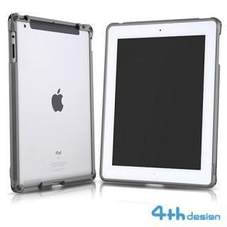 4THDESIGN Apple New iPad Tablet Aluminum Metal Case Bumper Titanium
