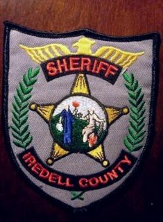 Iredell County Sheriffs Office North Carolina Uniform Patch Used