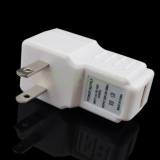 USB AC Wall Home Travel Charger Adapter for iPhone 5 5g 5th 4S 4 3GS