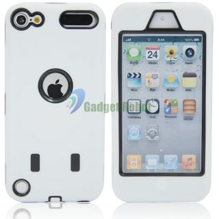 Duty Silicone Hard Case Cover For. Apple iPod Touch 5 5th + Bonus GR