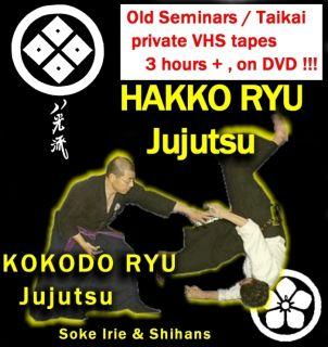 Ryu Kokodo Ryu Jujutsu Old amat videos Shihan Irie opean Taikai