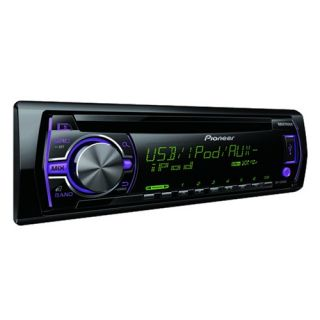 Pioneer Car CD USB Radio iPod iPhone Stereo 17cm Shelf or Door 2 Way