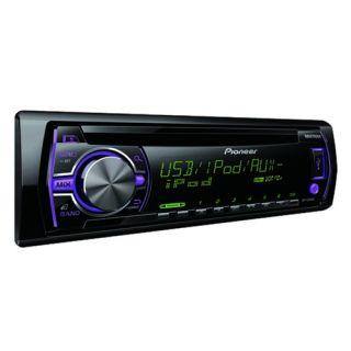 Pioneer Car CD USB Radio iPod iPhone Stereo 17cm Shelf or Door 2 Way