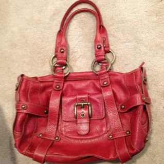 Isabella Fiore Red Handbag
