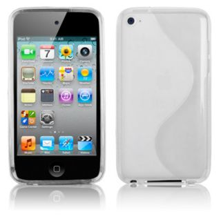 Clear Accessory TPU Cover Skin Case for Apple iPod Touch 4th