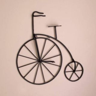 Wrought Iron Metal Bicycle Wall Grille Grill Decor 3104