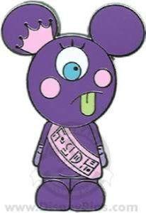 Disney Pin Mickey Monsters Keeti