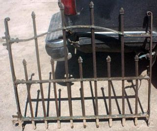 Antique Wrought Iron Gate 1 Vintage Gate Door Old