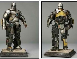 Iron Man Mark 1 Maquette Statue Sideshow Collectibles Regular Edition