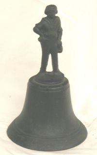 Cast Iron George Washington Iron Bell Estate Find