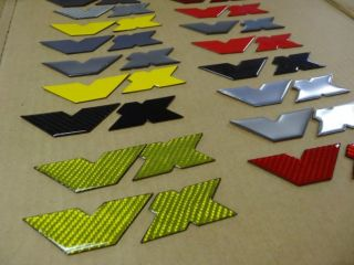 Isuzu Vehicross VX grill (or fender) emblem JDM style colors style NEW