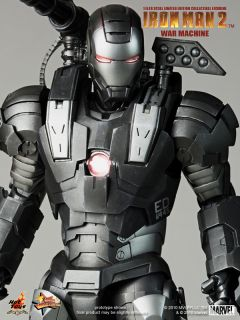 Hot Toys Ironman 2 Jim Rhodes Rhodey War Machine 1 6 MISB New Ready