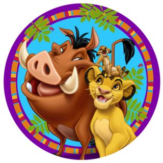 Lion King Simba Dinner Paper Plates Birthday Party Supplies