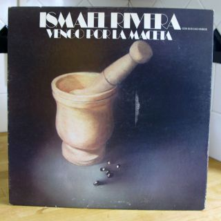 Ismael Rivera VENGO POR LA MACETA rare Latin original 1973 TICO