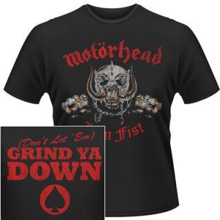Motorhead Iron Fist Official Shirt M L XL T Shirt New