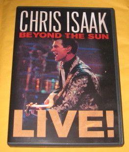 CHRIS ISAAK 2012 DVD BEYOND THE SUN LIVE RARE PBS CONCERT in Austin