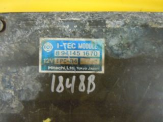 83 84 Isuzu Impulse Engine Computer ECM ECU PCM 8941451670
