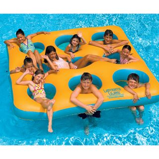 Swimline Labryinth Island Inflatable Water Raft Float Pool Toy ~BRAND