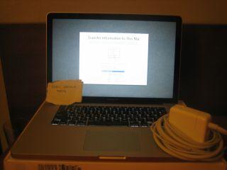 Apple MacBook Pro 15 4 Laptop MC373LL A April 2010 13 Air 2009 iMac
