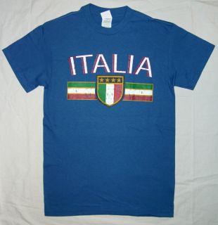 Italy Italia Italian t shirt soccer olympics calcio futbol fussball