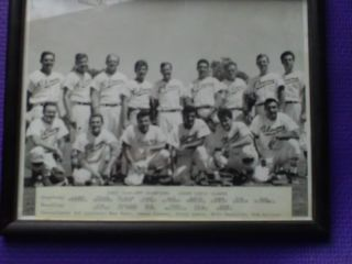 1963 Jerry Lewis Clowns Baseball Team Uniform Hollywood