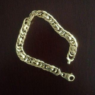 10K Yellow Gold Italian Bracelet