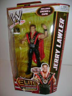 WWE Mattel Elite Collection Series 18 Jerry Lawler The King