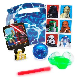 Lego Star Wars Favor Box Kit Birthday Guest Darth Vader