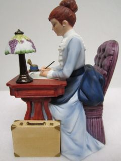 1985 Presidents Club Mrs. PFF Albee AVON ALBEE AWARD Figurine Statue