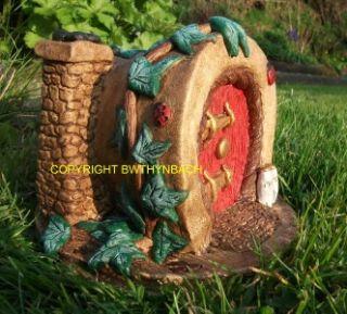 DESIGN LATEX MOULD MOLD MOULDS OLD PLANT POT & IVY FAIRY FAIRIE HOUSE