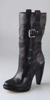 KORS Michael Kors Lisa Slouch Buckle Boots