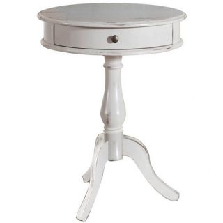 Hunt Home Round Pedestal End Table
