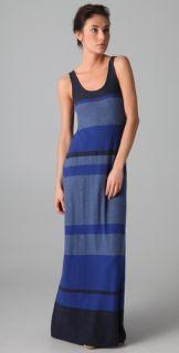 Vince Multi Striped Tank Dress