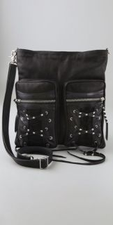 Kettle Black Messenger Bag