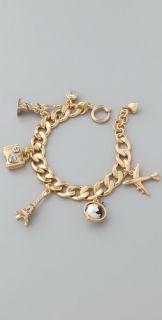 Juicy Couture Travel Charm Bracelet