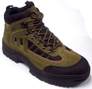 Itasca  Mens Waterproof Hiking Boot Gray Black