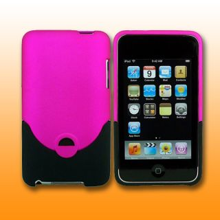 Hot Pink Hard Case for Apple iPod Touch iTouch 2G 3G 2nd 3rd Gen