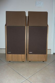 Bose 601 Series III Main Stereo Speakers Walnut Original Owner