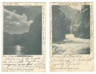 Park CA Postcards Happy Iles Merced River D J Foley Photographer 1907