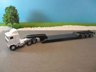 Ertl Diecast Mack Ultra Tractor Trailer Lowboy Flatbed Truck VINTAGE 1
