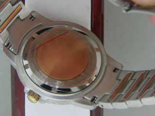 Mens  Bulova  Copper Millenia Wrist Watch New for Arthritis