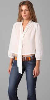 Elizabeth and James Maddie Tie Neck Shirt