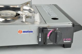 Iwatani Cassette Feu E 10SL Butane Gas Single Burner Portable Stove
