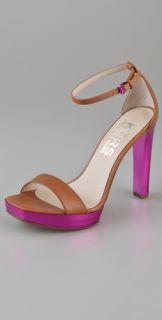KORS Michael Kors Ysabel Ankle Strap Platform Sandals