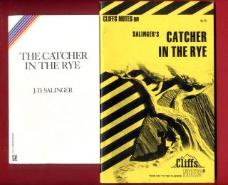 Catcher in the Rye by J.D. Salinger & Cliff Notes study guide   Free